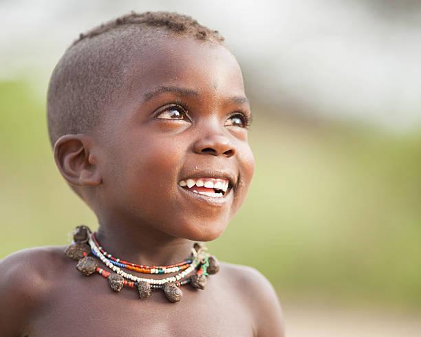 Hopeful African Boy